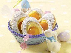 Puddingteilchen mit Aprikosen  - so geht's