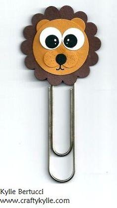 Stampin' Up! Punch Art Bookmark Kit - Lion