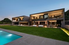MIRA Architects - Cape Town - Adam Letch Outdoor Garden Lighting, Residential Architecture, Cape Town, Mansions, House Styles, Architects, Home Decor, Houses, Decoration Home