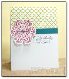 Moroccan Feel kth by kthaman - Cards and Paper Crafts at Splitcoaststampers