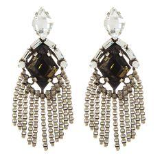 Allegra Earrings by DANNIJO   Charm & Chain
