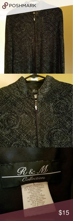 Sparkly jacket Slinky and sparkly. Perfect for evening wear. Jackets & Coats