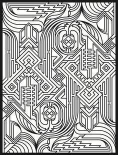 Tessellation Patterns Coloring Book Additional Photo Inside