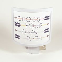 Choose Your Own Path Night Light | Get To Know YOU KNOW