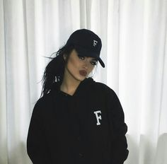 Image about girl in bae by danielz on We Heart It Fashion Killa, Girl Fashion, Gina Lorena, Edgy Outfits, Fashion Outfits, Slay Girl, Girls Dpz, Girl Swag, Girl With Hat