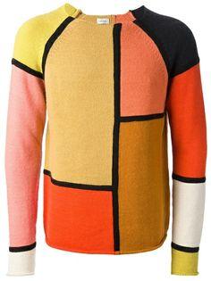 PAUL SMITH - Paneled Sweater