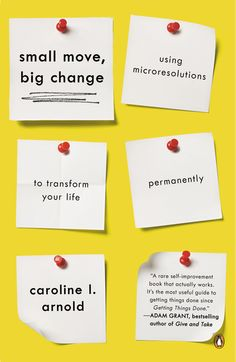 Caroline L. Arnold's manifesto for micro resolutions delivers the goods and will elevate your game.