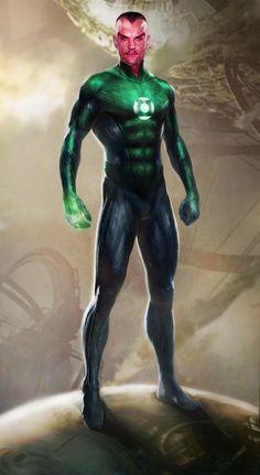 Hal Jordan & Sinestro Illustrations by...   HeroChan