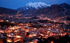 La hermosa ciudad de #LaPaz