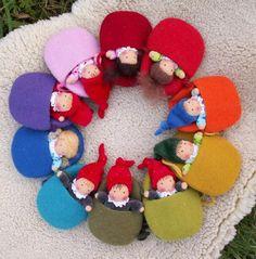 rainbow baby gnomes