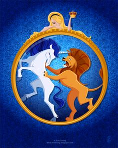 The Lion vs. The Unicorn Erin Leong San Francisco, CA, USA