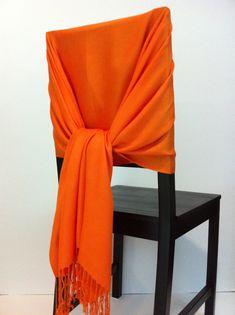Orange Pashmina , Pashmina Scarf, Pashmina Shawls, Wedding Shawls, Pashmina…