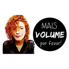 """Meus amores, quem ainda não assistiu ao tutorial """"MaisVolume, por favor!""""? Olha, está muito bacana (principalmente se você tiver pouco cabelo, mas se tiver muito os resultados também serão incrível!).  >>>Corre lá: youtube.com/KarinaViegaAB"""