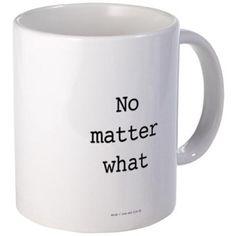 Warrior: No Matter What Mugs