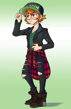 Bex Taylor Klaus was wearing a super cool outfit to Wondercon. So I had to draw Pidge wearing it
