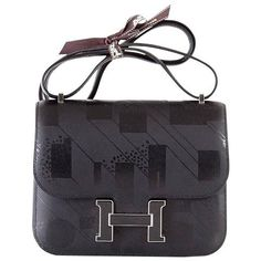 Guaranteed authentic Limited Edition VIP Hermes 18 Constance On a Summer Night.Exquisitely printed Black on...