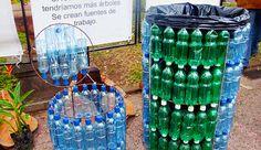 Las botellas de plástico son un material interesante para su reutilización con fines prácticos o decorativos, tanto se da. De forma extremadamente sencilla