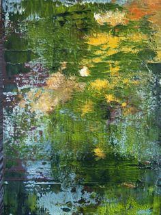 """Koen Lybaert; Oil 2014 Painting """"abstract N° 827"""""""