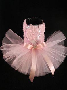 Dia Dos Namorados _ Couture Rosa Bailarina Tutu Vestido Cachorro Xs _ Novo Vestido De Cachorro | Artigos para animais, Suprimentos para cães, Roupas e sapatos | eBay!