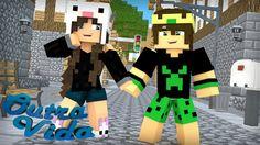 Minecraft: OUTRA VIDA #01 - MEU NOVO VIZINHO!