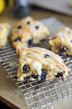 How To – The BEST Gluten Free Blueberry Scones!