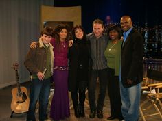 Wrapping up the taping of another Memphis Music Revealed TV Show...featuring performances by Valerie June, Vicki Loveland and Niko Lyras.  Also pictured, Johnnie Walker and Kurt Clayton, Hosts.