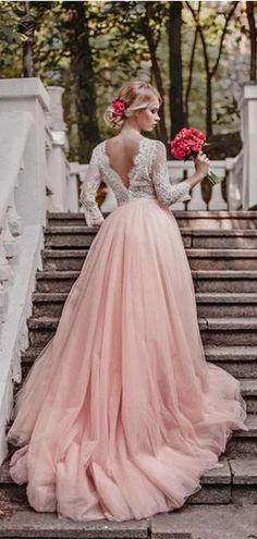 Champagne Skirt Long Sleeves Lace A-line Cheap Wedding Dresses Online, - Wedding Gowns Platform Cheap Formal Dresses, Cheap Wedding Dresses Online, Simple Dresses, Western Wedding Dresses, Bridal Dresses, Tulle Wedding, Wedding Gowns, Wedding Skirt, Wedding Tips