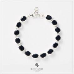Onyx Oval Bracelet Gemstone Bracelets, Gemstones, Silver, Jewelry, Jewlery, Money, Bijoux, Schmuck, Jewerly