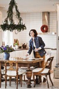 Swedish interior, scandinavian design, #afswedala, kitchen, christmas kitchen. Stylist: Johanna Flyckt Gashi, Photographer: Lina Östling