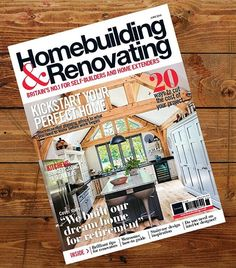 Although we're saying goodbye to that lovely (if brief) weather we're saying hello to the latest issue of Homebuilding & Renovating!  We take a look at how you can design a kitchen on a budget create the perfect wetroom and drought-proof your garden.  Find design inspiration with our guide to freestanding vs built-in baths and our gorgeous architectural moodboard for your dream staircase. Plus we discuss if it is worth hiring an interior designer for your project as well as taking a tour of our