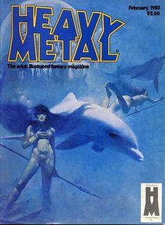 Heavy Metal Magazine (1977 series) v6 #11, by Manuel Sanjulian