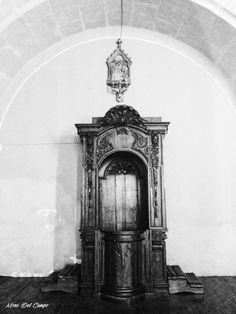 El confesionario que movió el diablo, catedral de Durango México. Fotografía Moni del Campo