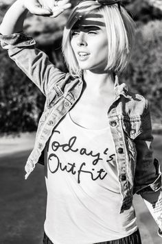 I could do a whole board about Alysha Nett. I love her hair/style/makeup/modeling stuff