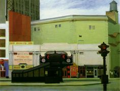 Edward Hopper, The Circle Theater, 1936.