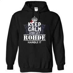 ROHDE-Special For Christmas - #tee trinken #sweater nails. ORDER HERE => https://www.sunfrog.com/Names/ROHDE-Special-For-Christmas-aupxn-Black-14730385-Hoodie.html?68278