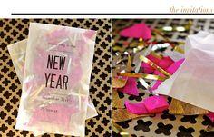OMG! Cutest New Years invites!!  Love!