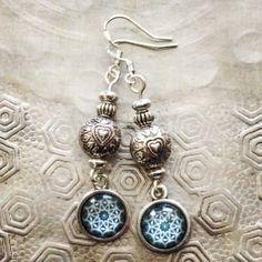 Sweet silver earrings made by Zivah Pure Blue Earrings, Drop Earrings, Ibiza Fashion, Handmade Silver, Boho Chic, Pure Products, Earrings Handmade, Color Blue, Sweet