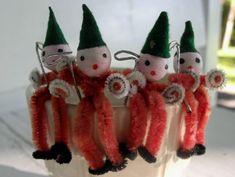 Santa's elves gift ties