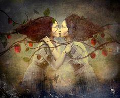 'Enchanted Garden' von Christian  Schloe bei artflakes.com als Poster oder Kunstdruck $20.79