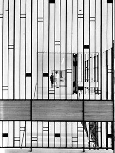 The Konstfackskolan (College Of Arts, Crafts And Design) in Stockholm was designed by Gösta Åbergh in 1959.