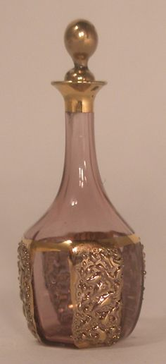 Palace Decanter Amythist by Gerd Felka - $42.00 : Swan House Miniatures, Artisan Miniatures for Dollhouses and Roomboxes