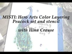Spin Doctor Sends E05 - Realtime tutorial - orchid card with Hero Arts stamps and DIY stamping tool - YouTube