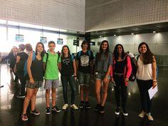 Preparados para la aventura! Salida del programa #trinitycollege en el aeropuerto de #Barcelona #WeLoveBS #Idiomas #Inglés #verano #Cursos #Travel #Language #Summer #Amigos #Friends
