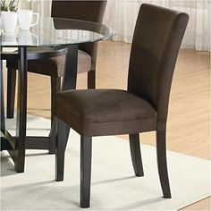 Coaster Home Furnishings 101496 Casual Dining Chair Set of 2 CappuccinoChocolate -- You can get more details by clicking on the image.Note:It is affiliate link to Amazon.