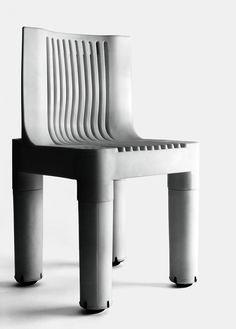 K 1340, Polyethylene children's chair designed by Marco Zanuso, Kartell, 1964.