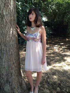 Shining Pink Dress.Dresses.Women's Dress.Women's by shpirulina