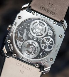 Our David Bredan goes Hands-On with the new Bulgari Octo Finissimo Flying Tourbillon Skeleton. The latest and still thinnest tourbillon in the world all thanks to the Bulgari BVL268 Finissimo caliber packing 253 parts into a 1.95mm-thick construction..