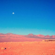 """""""I absolutely loved my time in the Atacama Desert! The Atacama Desert is in the north of Chile and is full of spectacular views such as this! I particularly loved seeing the moon in the afternoon! ☺️#chile #travel #smartertravel #travelblogger #lifestyle #trip #explore #backpacker #travelphotography #wonderlust #viajero #viajem #worldingram #passionpassport #insta_international #photo #photographer #worldcaptures #atacama_desert #darlingescapes #visitsouthamerica #visitasuramerica…"""