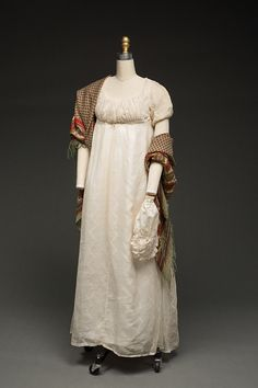 Dress, 1803-10 From Historic Deerfield Museum