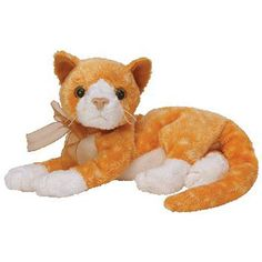 TY Beanie Baby - TABS the Cat (7.5 inch) Cat Beanie Baby 4511bb1a34ff